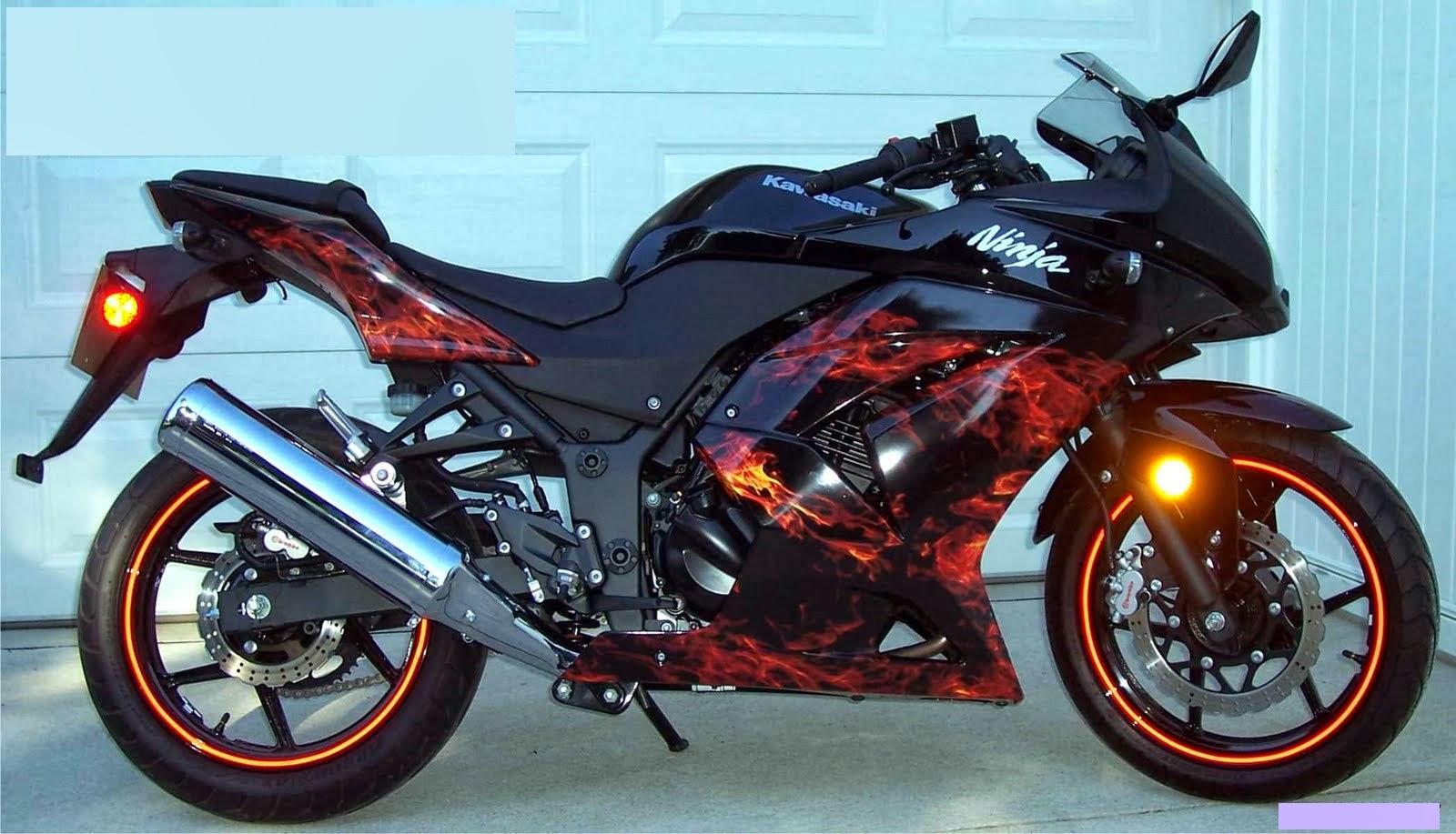 modifikasi new Ninja 250