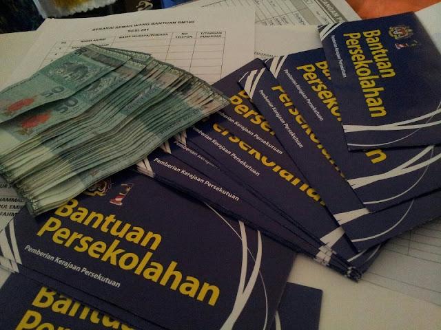 Bajet2016 : Syarat Baru Bantuan Persekolahan RM100