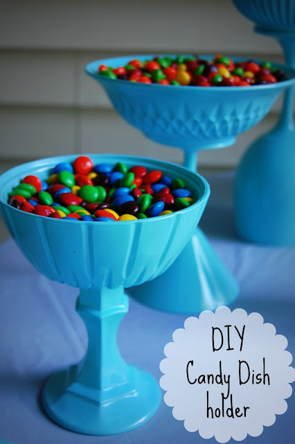 DIY candy dish