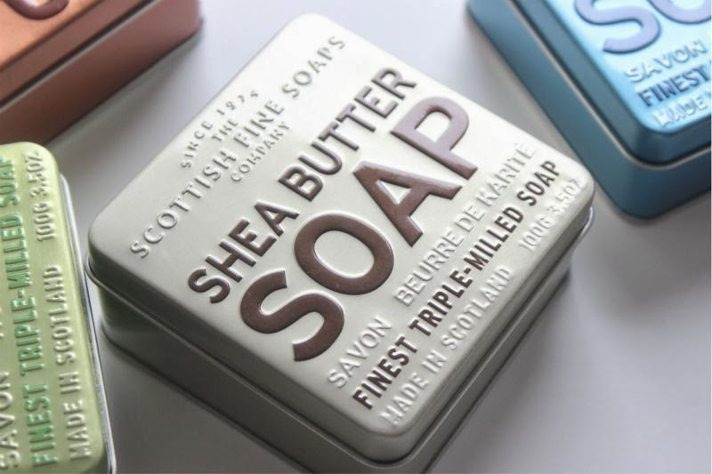 The Scottish Fine Soaps Company Soap in a Tin