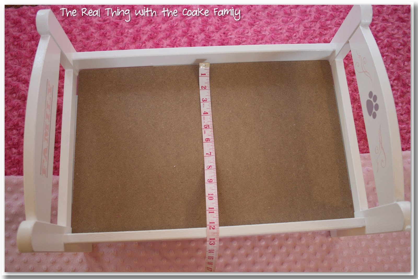 american girl bed pattern