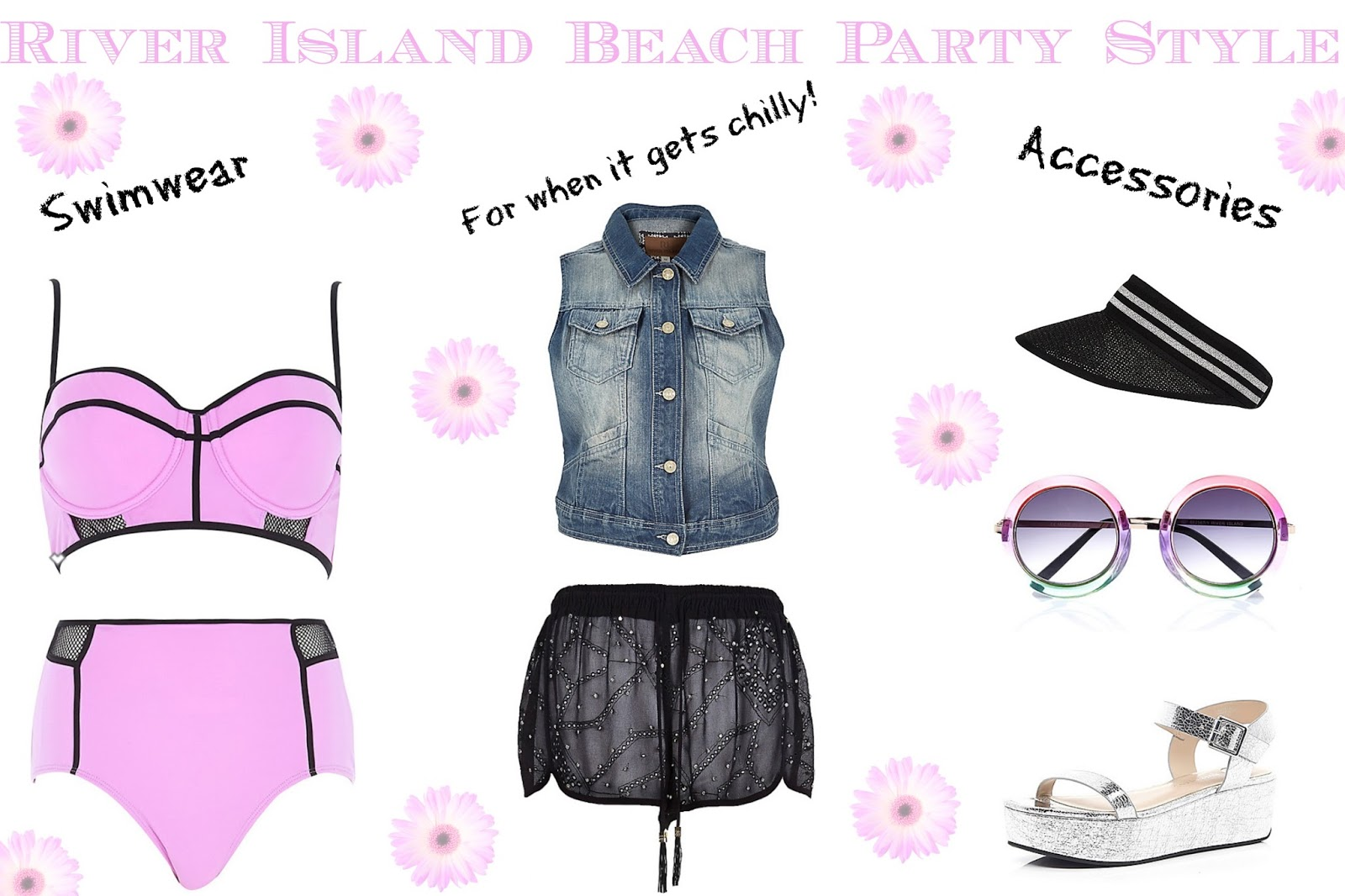 Wishlist on Bec Boop blog of River Island Beach party Style