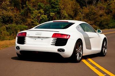 Audi R8 com câmbio manual para o Brasil