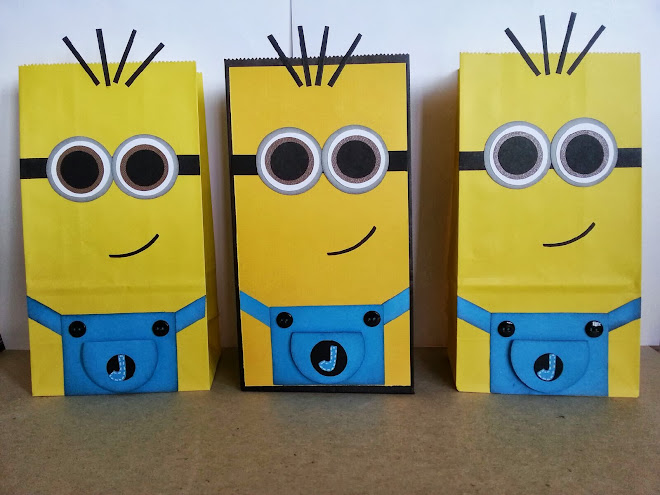Minion's Paper Candy Bags