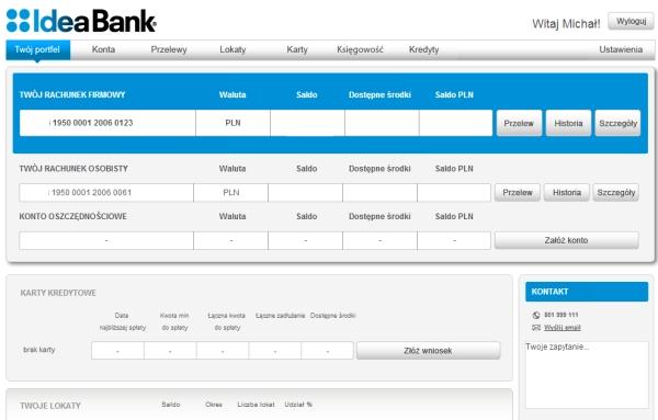 Idea Bank konto firmowe czy warto