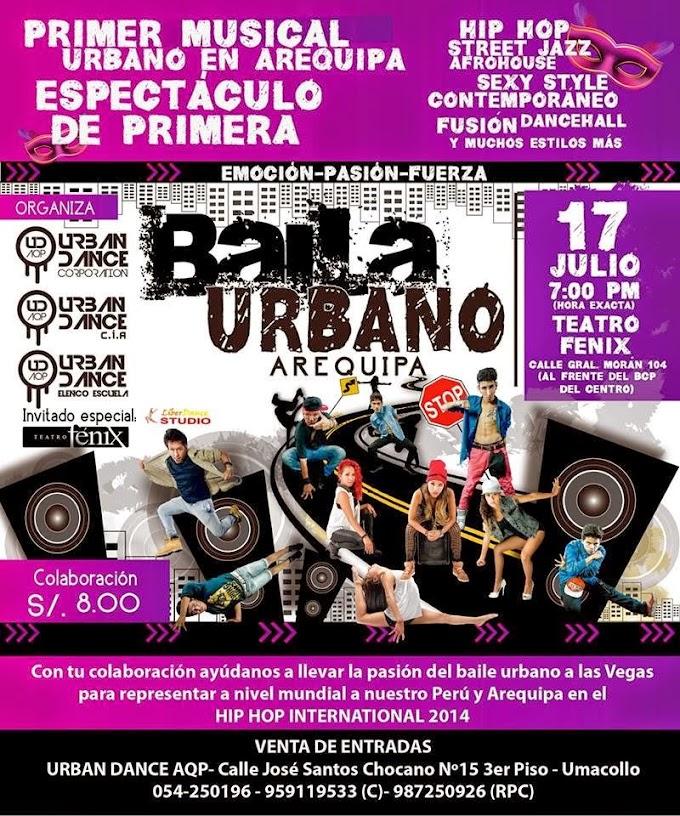 Musical Urbano Arequipa - 17 de Julio