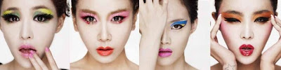 Brown Eyed Girls BEG Cleansing Cream members Gain Jea Miryo Narsha