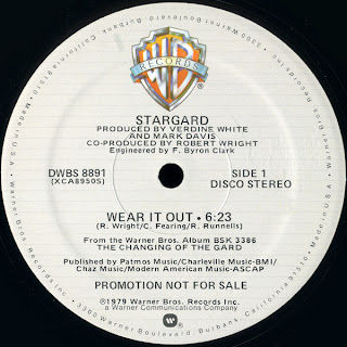 Stargard - Wear It Out 1979 12 Inch