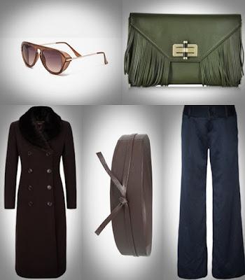 Zara, Polyvore, Diane Von Furstenberg e Mango, calças, casaco, cinto, mala, oculos