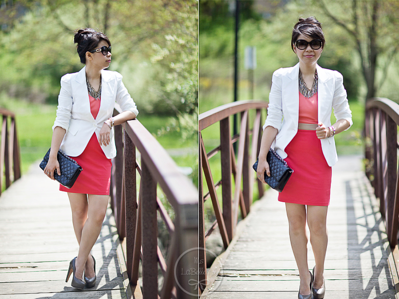 White Blazer Work Outfits Outfit F21 White Blazer