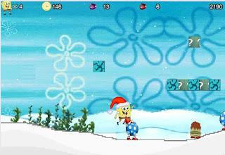 Juego Bob Esponja en navidad