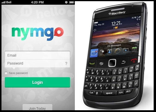 Nymgo for Blackberry Mobiles