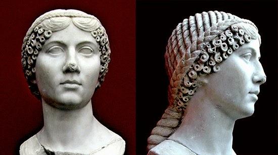 Acconciature donne romane antiche