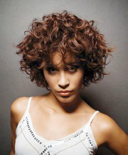 Naturally Curly Hair Short Hairstyles For Naturally Curly Hair 2014
