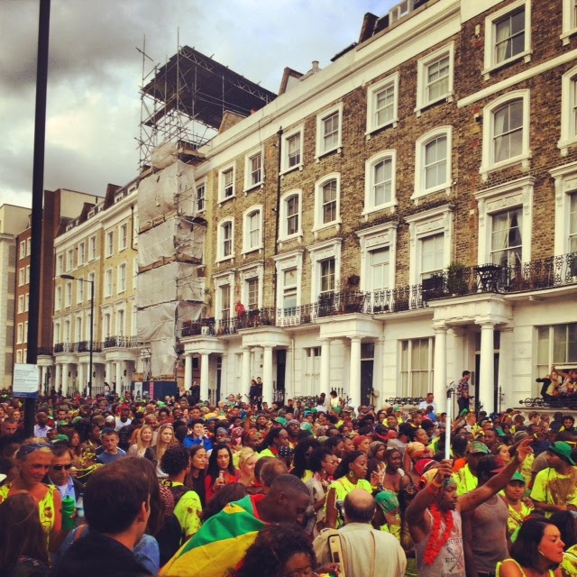 Notting Hill Carnival 2014 crowd
