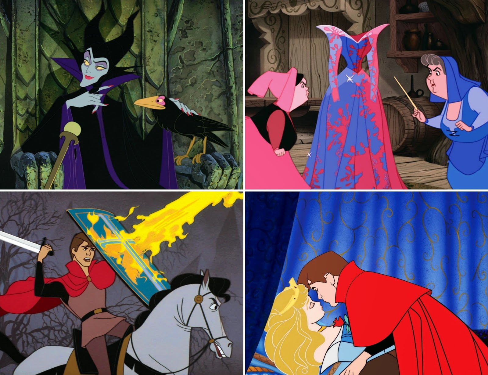 Sleeping Beauty scenes