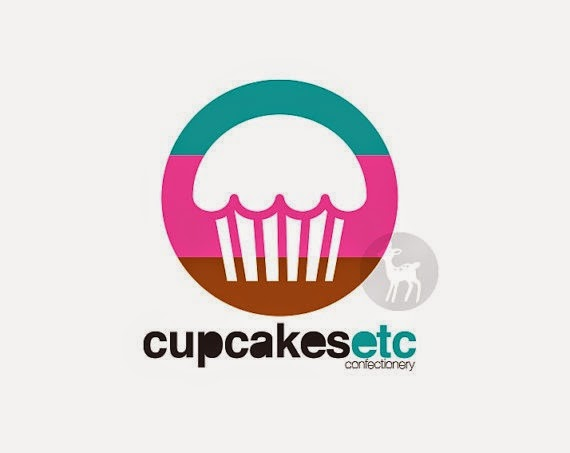 Sweet Cup Cake Logo Design Example For Your Inspiration