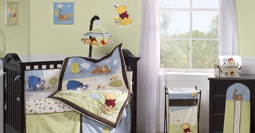 Best Wall Decals for Nursery Decorating Lovable Winnie the Pooh and Friends Theme