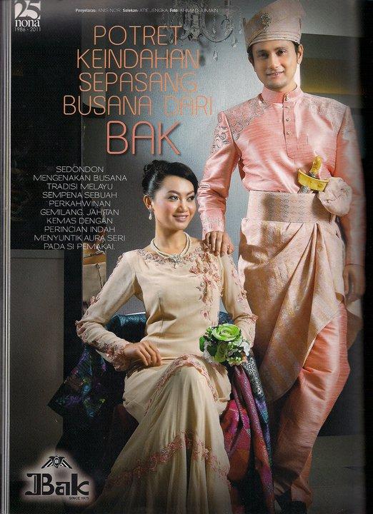 Baju Pengantin Lelaki Melayu