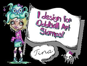 LizzyLove Oddball Art Stamps