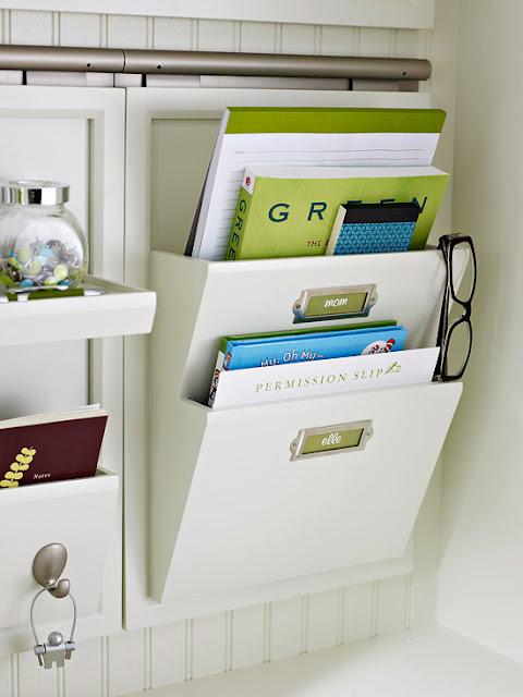 Back to school organizing tips 2013 ideas - Simple ways of keeping your home organized using magnetic picture frames ...