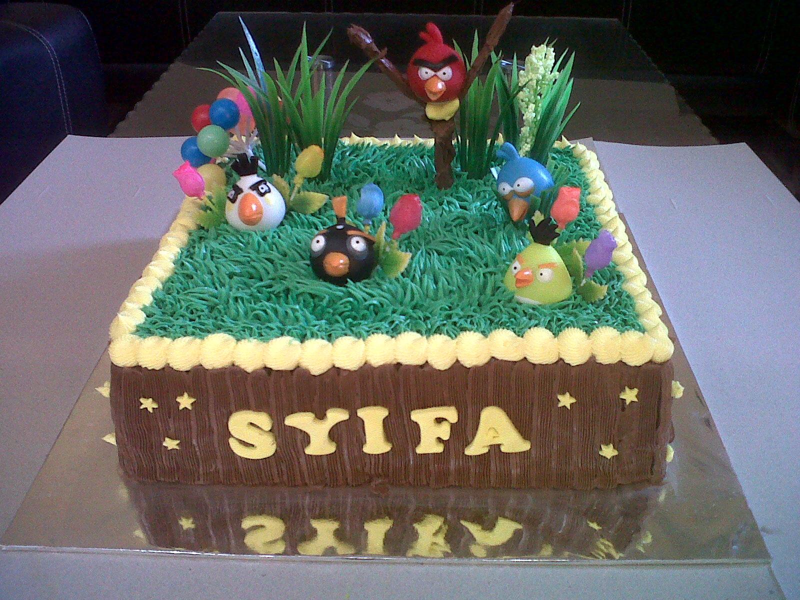 Pemesan Kue Ulang Tahun Anak : Pipit untuk ultah-nya dek Syifa