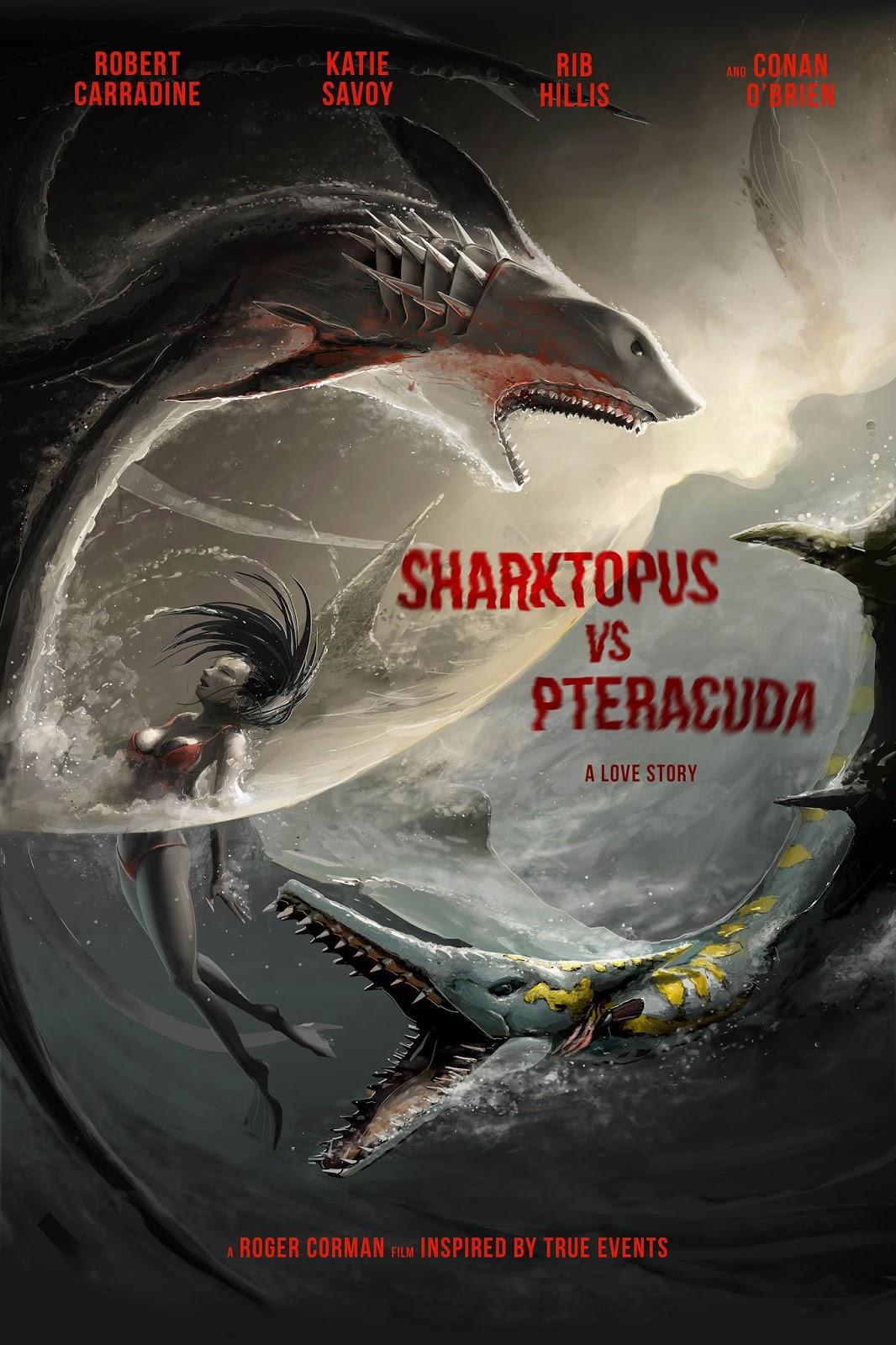 Sharktopus Contra Pteracuda – Dublado (2014)