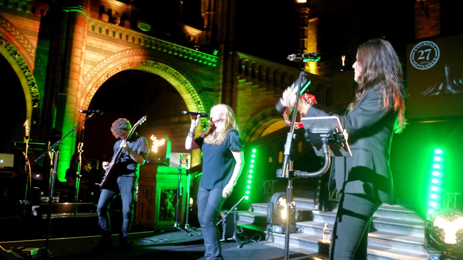 T'Pau at the Country Life Ball at the Natural History Museum