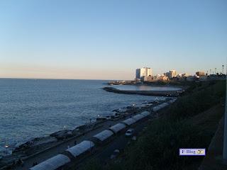 Mar del Plata - El mar al atardecer