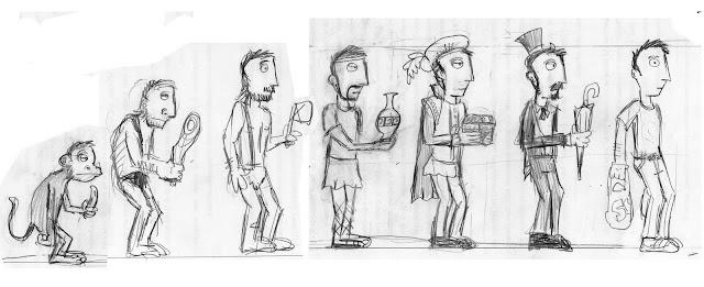 Marcus l cartoonist evolution 39 s evolution grafic for Marlen leroy