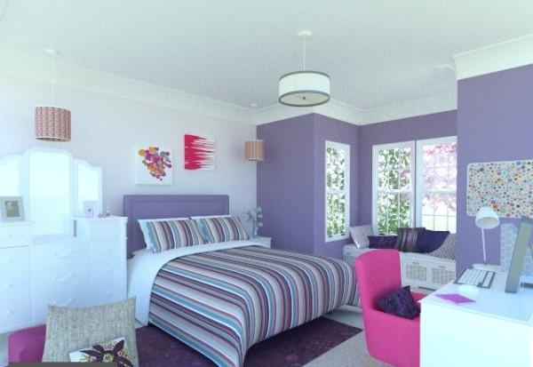 Design a young teen's bedroom