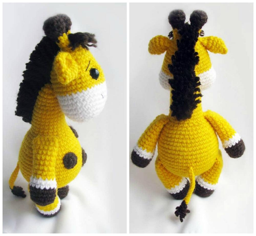 Жираф амигуруми схема крчюком