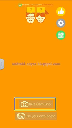 Aplikasi Kamera Android yang ada info usia