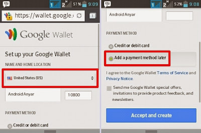 login ke Google Wallet Indonesia