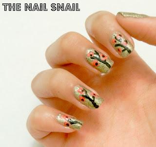 tree nail art