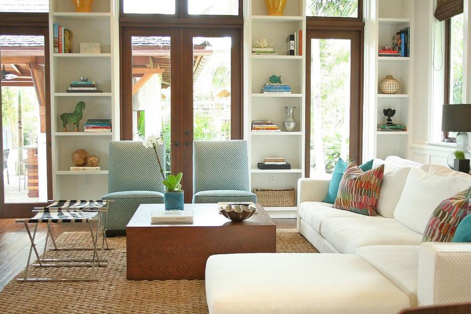 ruang tamu minimalis modern mewah yang cantik
