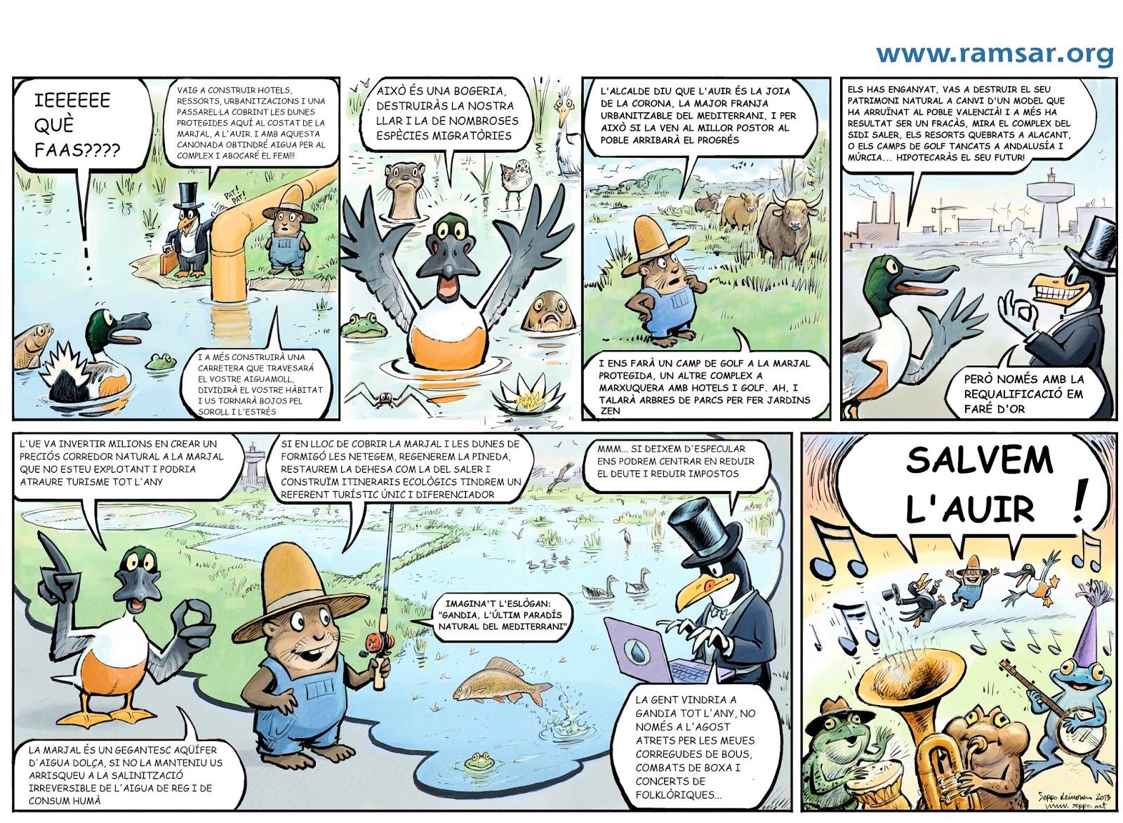 Salvem l'Auir, Dia Mundial de les Zones Humides