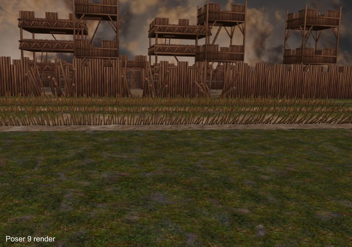 3d Models - 52 BC, Caesar´s Siege Of Alesia
