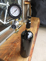 Paintball CO2 tank for Beer Keg