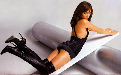 olga_kurylenko_hot_photo_shoot_in_black_fun_hungama_forsweetangels.blogspot.com