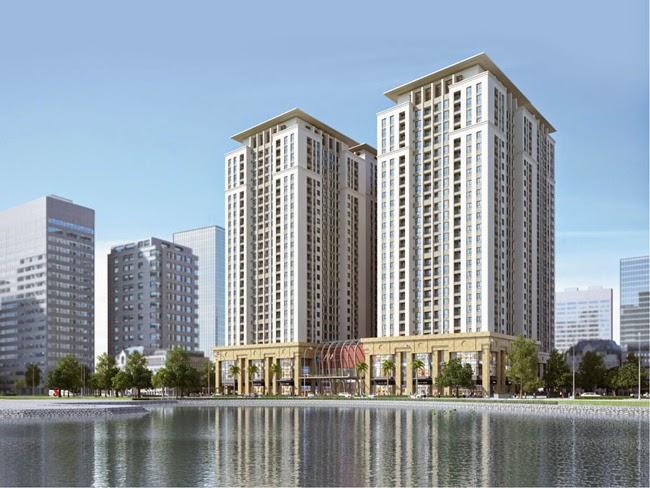 Dự án chung cư Home City
