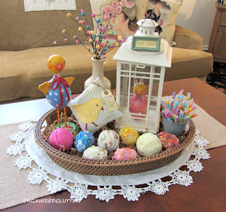 Easter Basket Vignette
