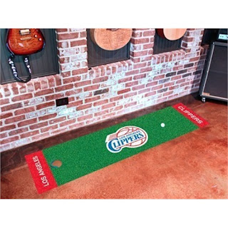 Los Angeles Clippers NBA Indoor Golf Putting Green