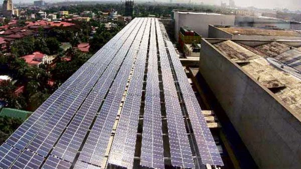 Power up! SM North EDSA becomes world's biggest solar powered mall