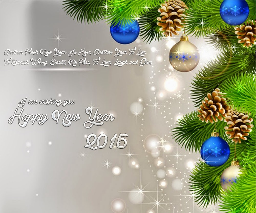 Best Wishes for Happy New Year Card Sayings 2015
