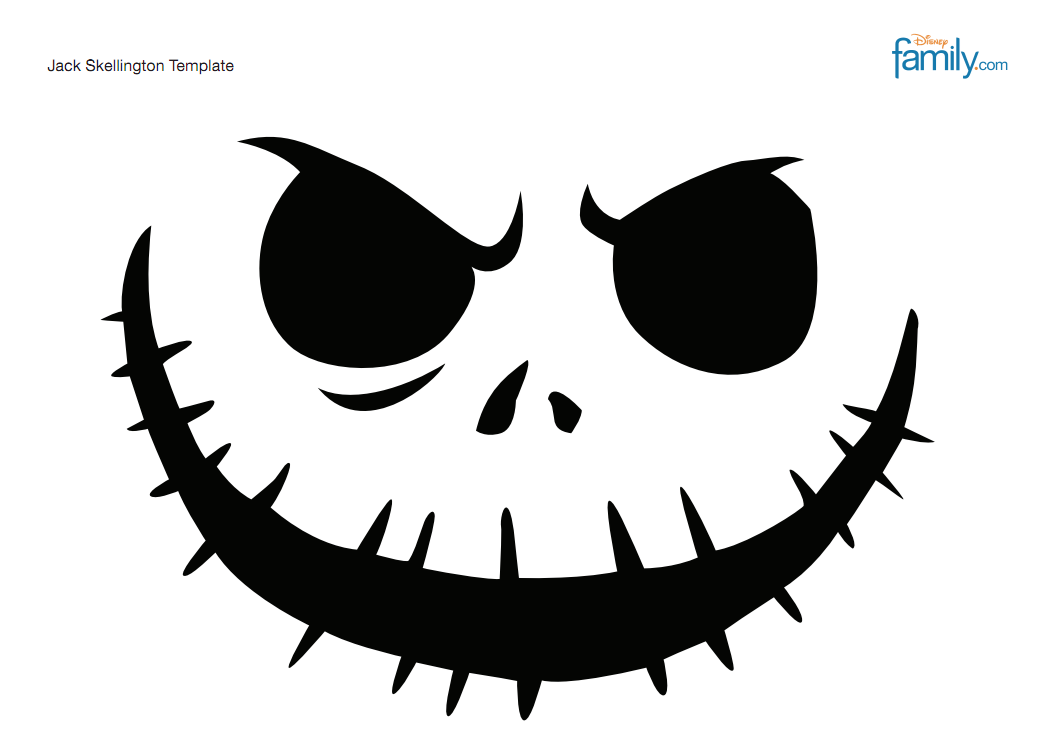 Gabrielov foodblog slovak food blogger for Pumpkin carving patterns printable jack skellington