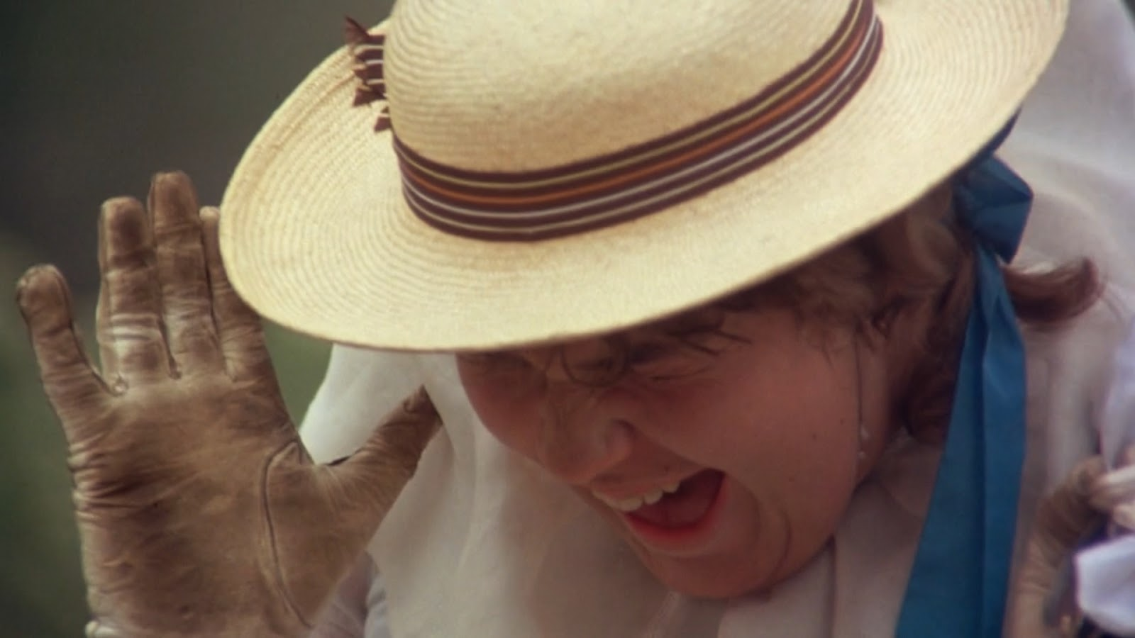 Edith screaming in Picnic at hanging rock