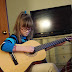 #WordlessWednesday on a Tuesday - Learning Guitar