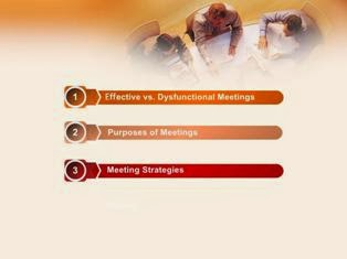 Conduct Effective Meetings PPT Slide 1