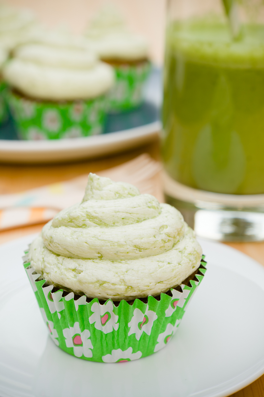Green Smoothie Cupcakes | Cupcake Project